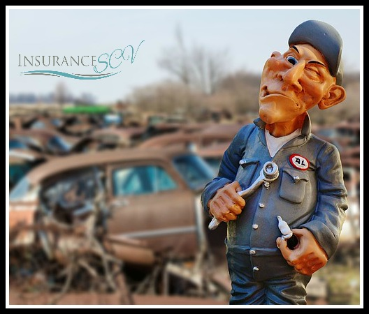 If you own a salvage car your insurance options will likely be limited
