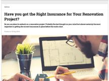 Beauty and the basement - Insurance Tailors