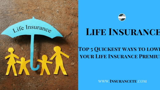Top 5 Quickest ways to lower your Life Insurance Premium