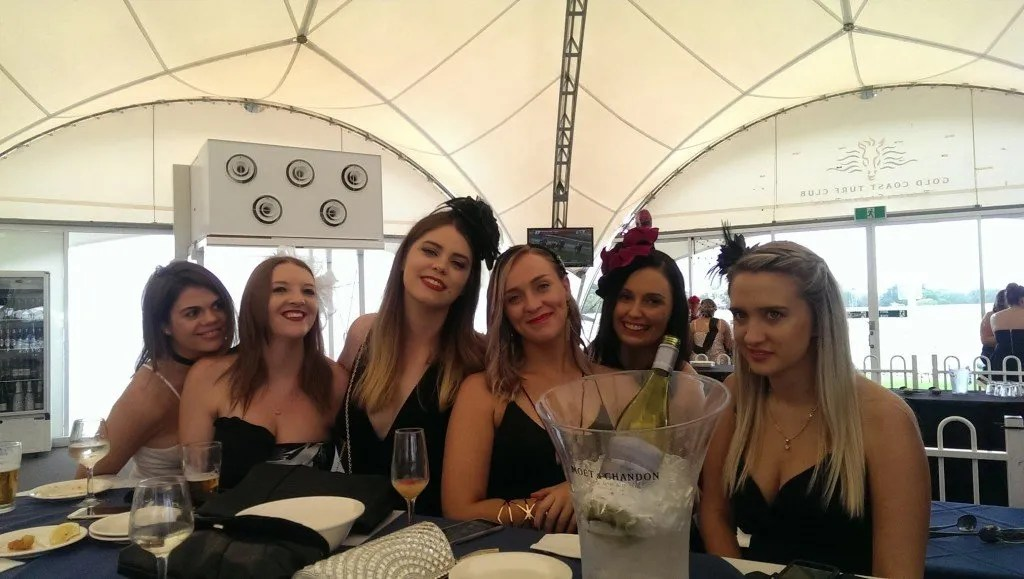 Insure 247 Team Enjoy A Day At The Races