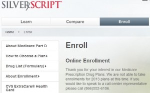 Medicare Sanctions CVS/Caremark SilverScript Part D Plan