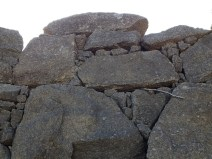 NFD viaduct large granite boulders with smaller rock in the interstitial spaces