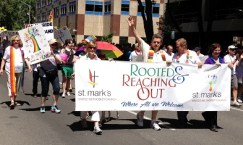 Rooted and Reaching and out. St. Marks United Methodist Church.