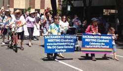 Sacramento Friends Meeting, Quakers.