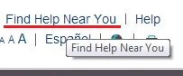 Find Help Near You will allow you to search for agents very far from you also.