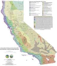 Evapotranspiration Map published by Department of Water Resources