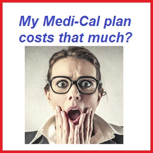 How much does my MediCal plan cost
