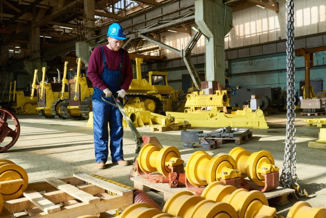 Mover in Machinery Workshop