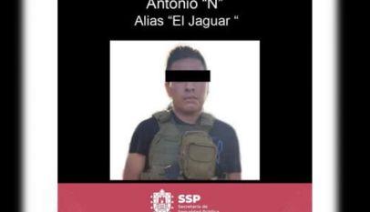 Cae 'El Jaguar', principal operador del CJNG en Veracruz
