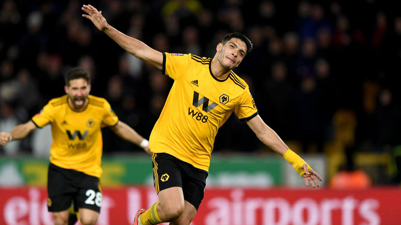 Anota Jiménez gol de triunfo de Wolverhampton sobre Torino en UEFA