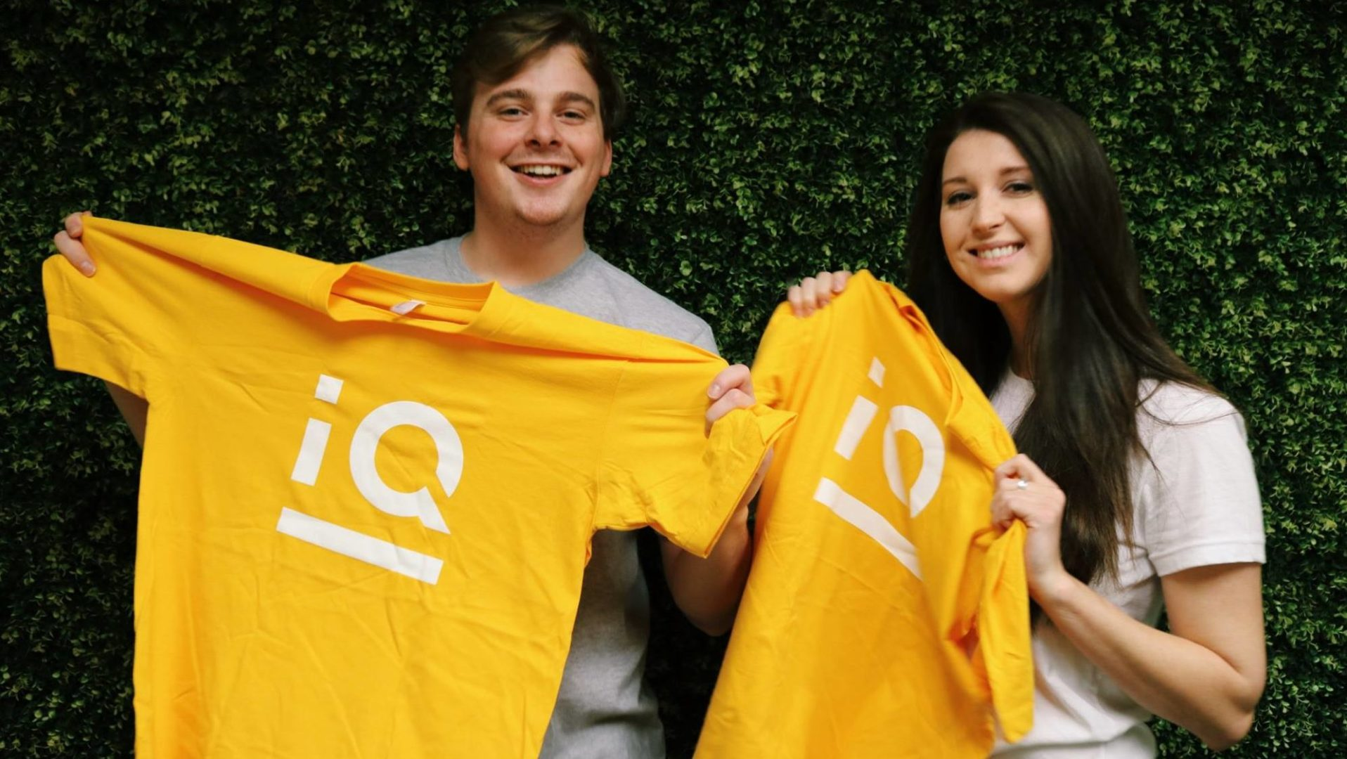 Insynq logo yellow shirt boy and girl image