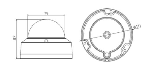 Hikvision USA 5 MP Vandal-Resistant Network Dome Camera