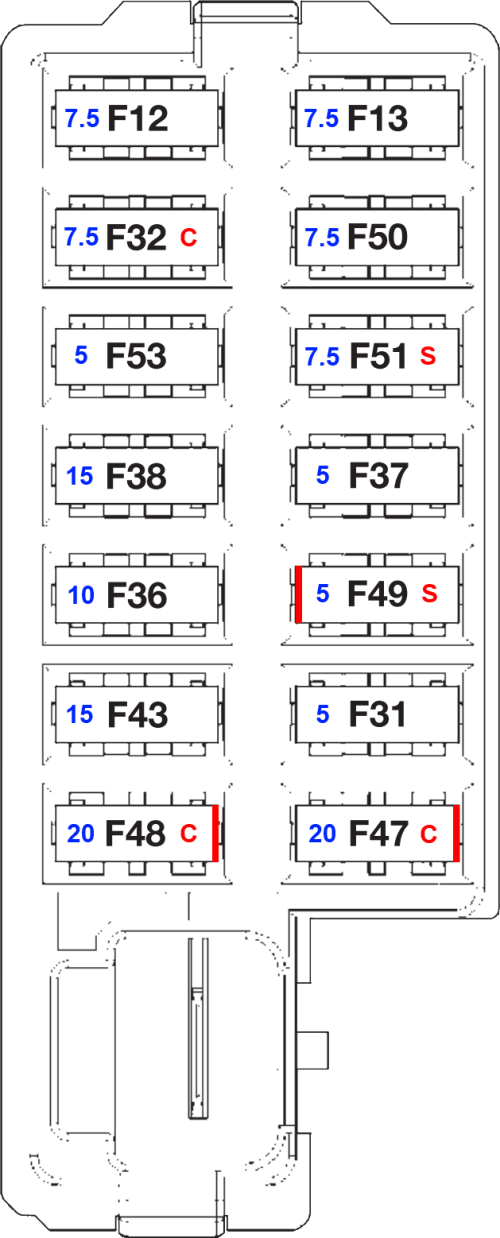 small resolution of fiat punto fuse box schematic