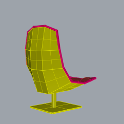 Jehs Laub Lounge Chair Xmas Dining Room Covers Parametric Seating Part I By Knoll Parametrics
