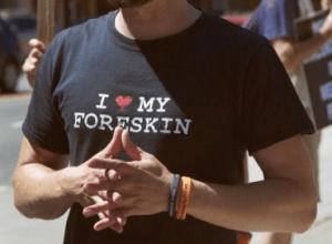 I <3 my foreskin