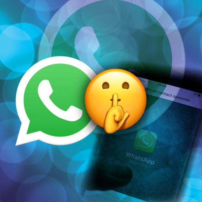 WhatsApp how to activate Hidden Mode