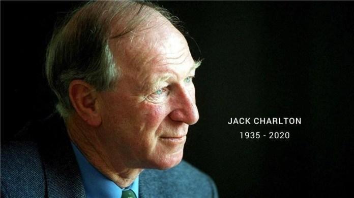Online Book of Sympathy for Jack Charlton