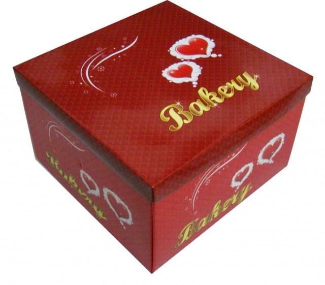 Mẫu in hộp giấy đựng bánh kem đẹp