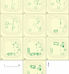 figure h whitton phase plans after jarret and wrathmell 1981 image dyfed archaeological trust  [ 4098 x 5459 Pixel ]