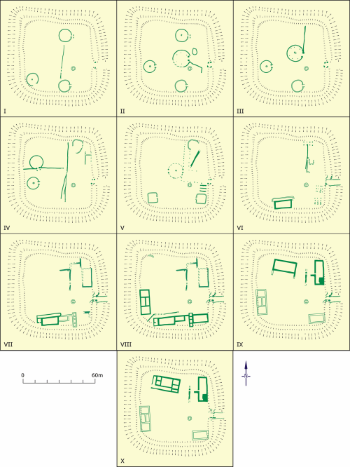 small resolution of figure h whitton phase plans after jarret and wrathmell 1981 image dyfed archaeological trust