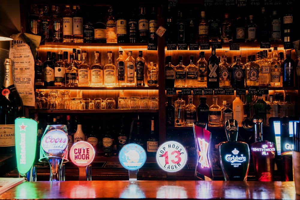 Irish Bar design Waterford