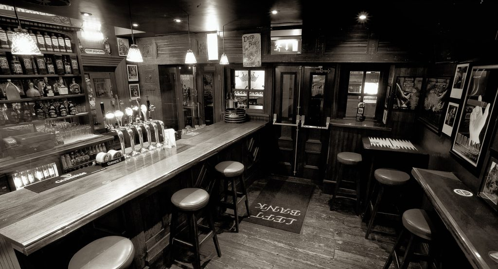 Traditional bar design Kilkenny