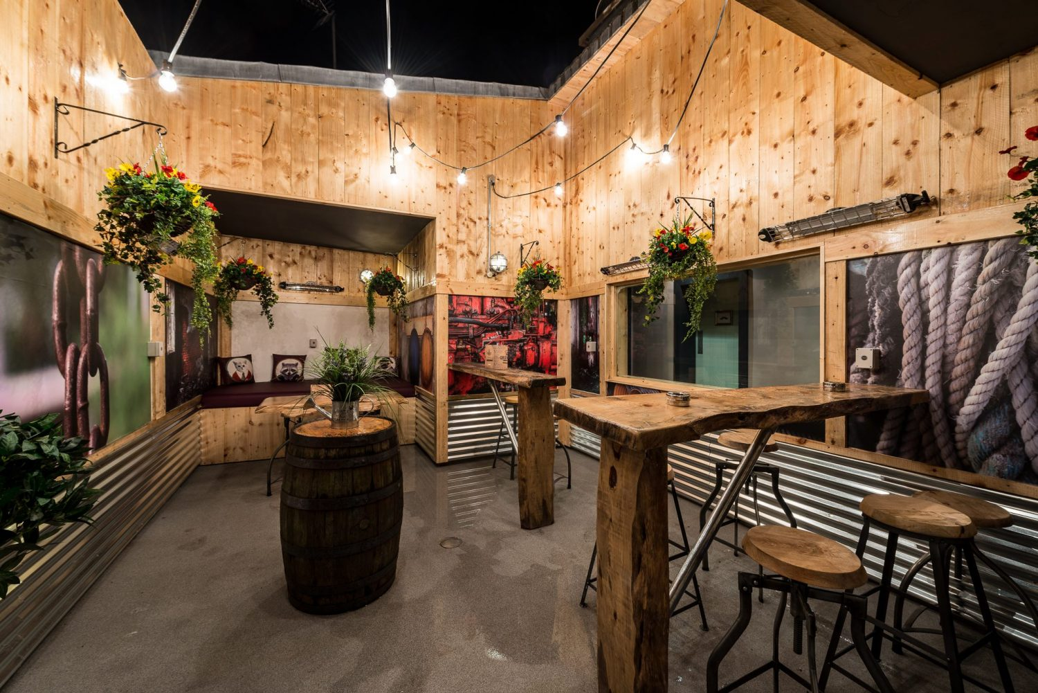 beer garden portfolio intec design