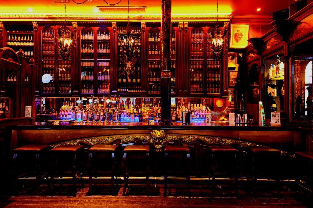 The Left Bank bar design Kilkenny