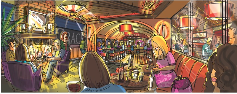 Concepts for Irish bar
