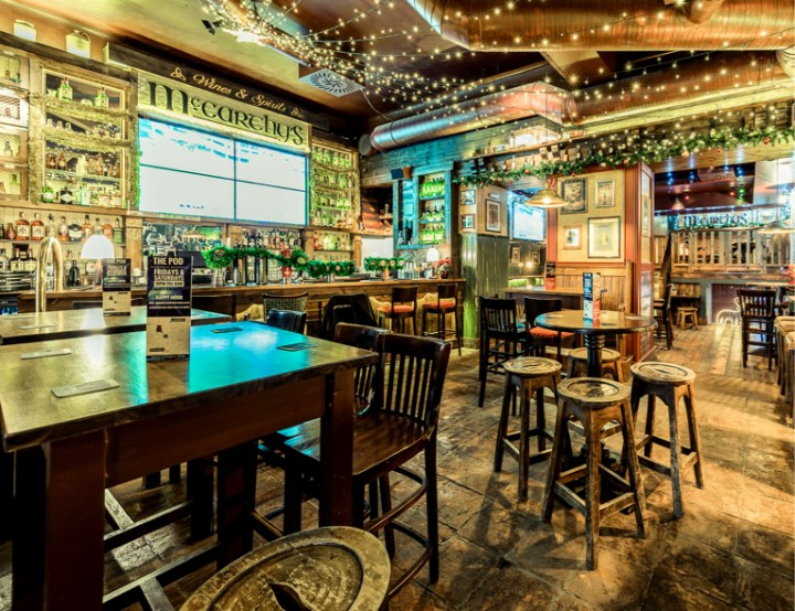 Irish Bar Design Prague