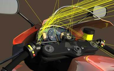 motor-cycle-windshield-ray