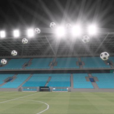Lighting Simulation for Football Stadium