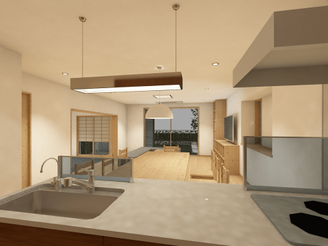 OmniPort/AC - Rendering by ARCHICAD