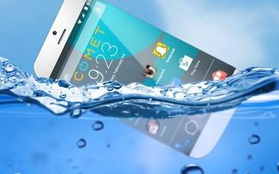 Primer smartphone que flota en el agua