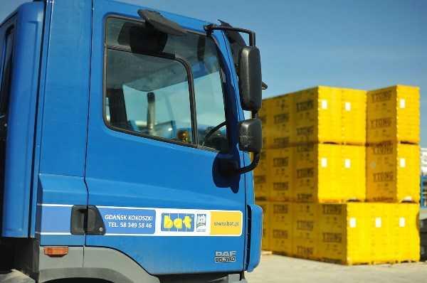 Materiały budowlane skład budowlany BAT sprzedaż materiałów Pomorskie Trójmiasto