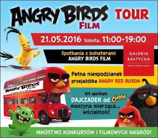 angry birds w galerii baltyckiej