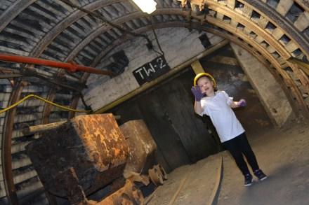 Improwizacje Olivii w kopalni
