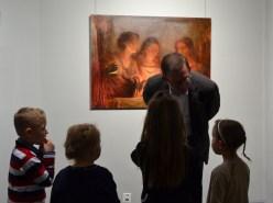 wywiad dzieci z artystą