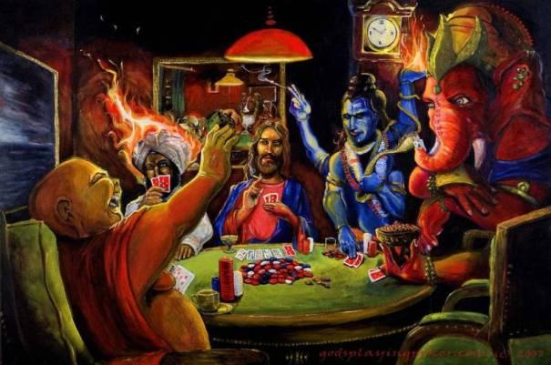 gods-playing-poker