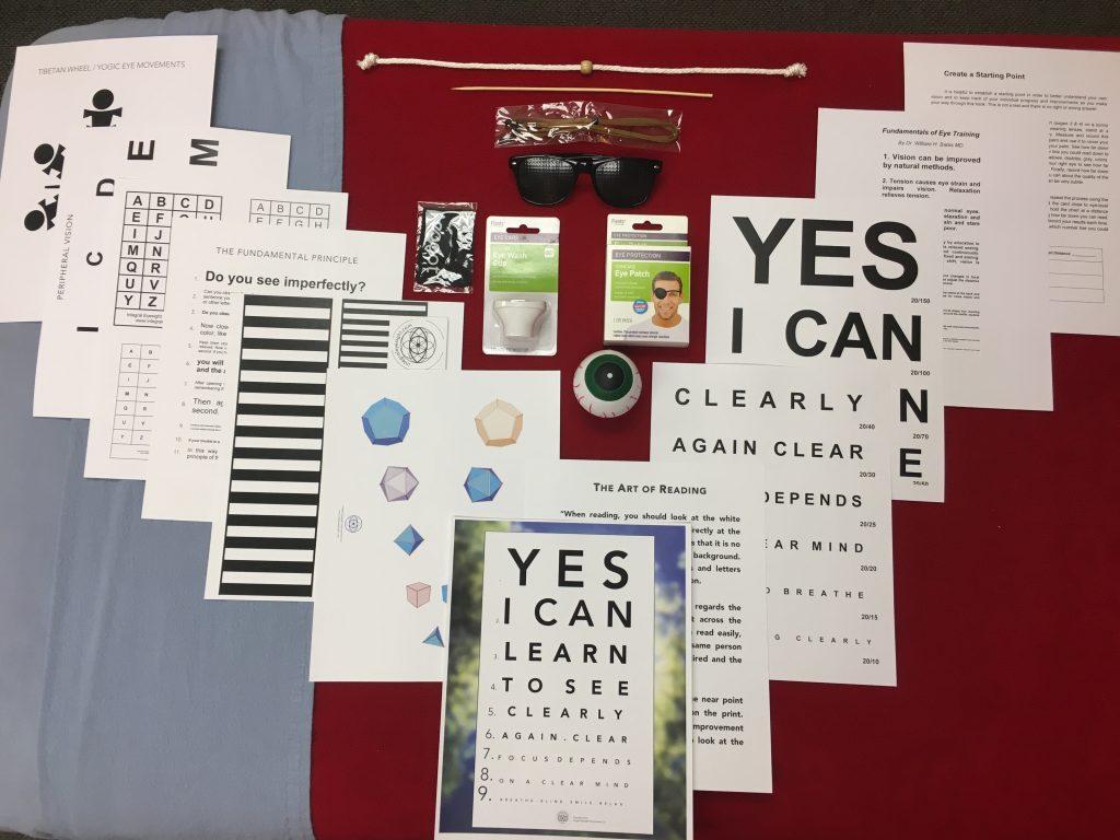 Holistic Vision Kit - Integral Eyesight Improvement