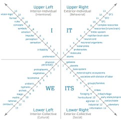 Diagram Of The Four Quadrants Directv Swm 16 What Is Integral Approach  Life