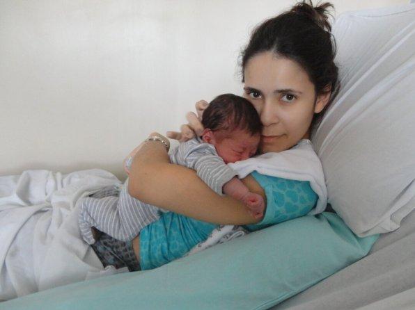 Parto natural - após o nascimento