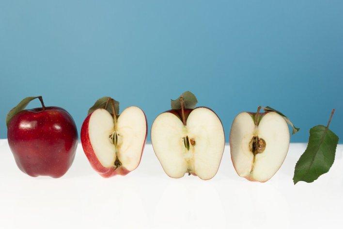 Como transportar frutas na lancheira - maçã