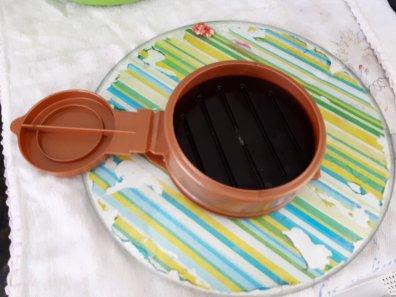 Hambúrguer caseiro saudável - utensílio para fazer hambúrguer