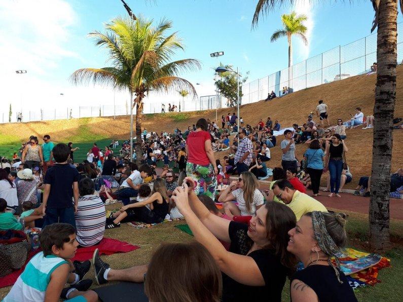 Como aproveitar os parques de Goiânia com as crianças - piquenique Parque Marcos Veiga Jardim 5