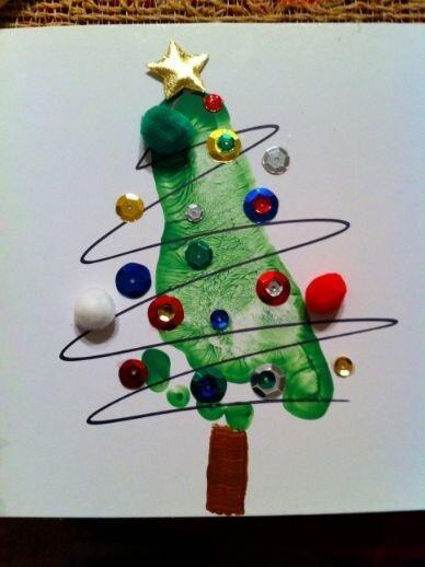 Comemorando o Natal com as crianças com atividades Diy 2