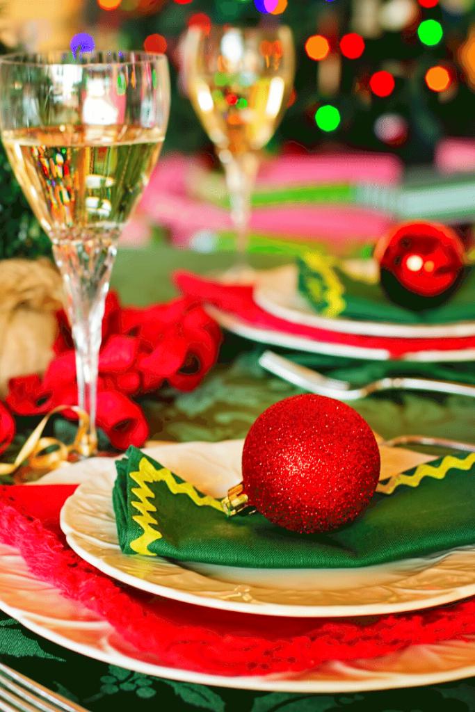 Decoração da ceia de natal – mesas 2