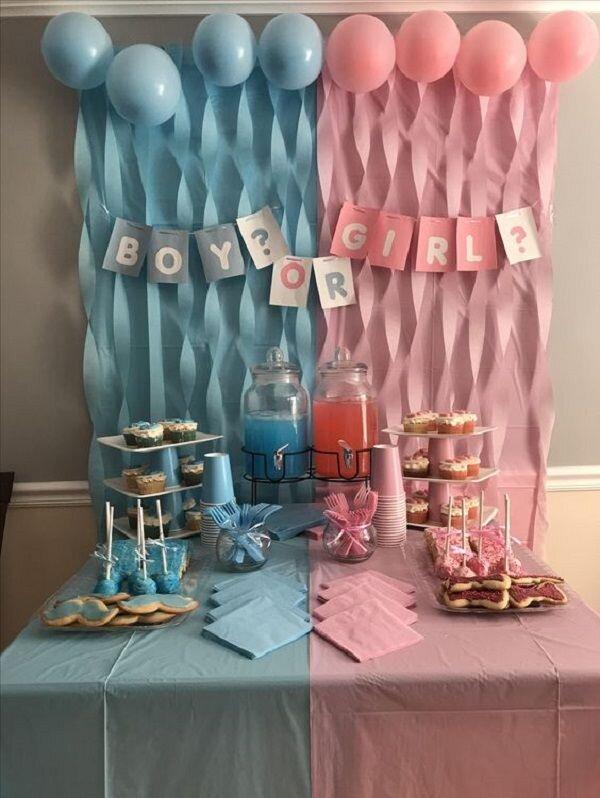 Chá Revelação_ +70 Inspirações para Comemorar a Chegada do Bebê