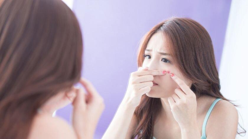 pele do rosto na gravidez –