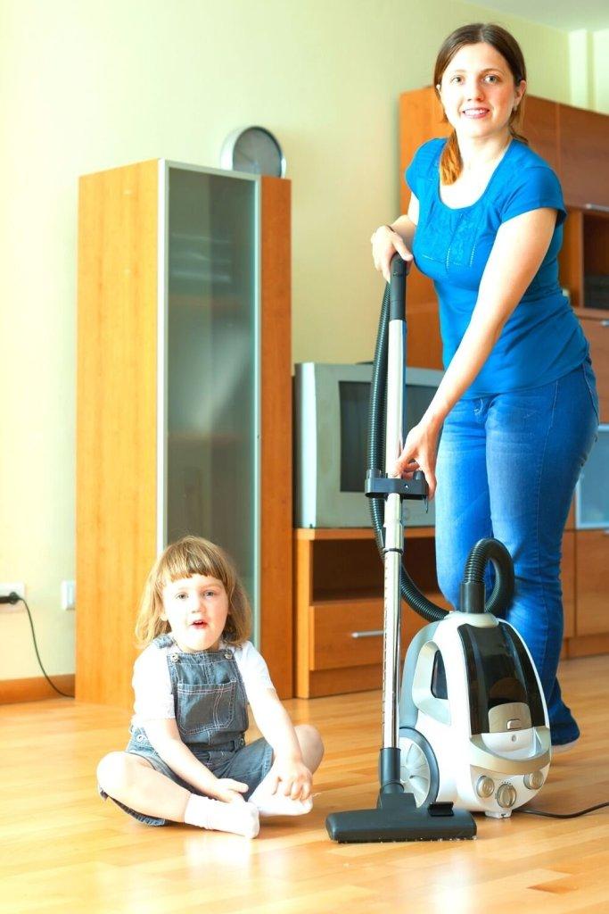 Tarefas domésticas : todos devem colaborar!